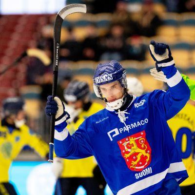 Tuomas Määttä, jääpallon MM 2019.