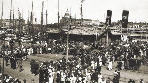 1920-luvun Helsingin kauppatoria