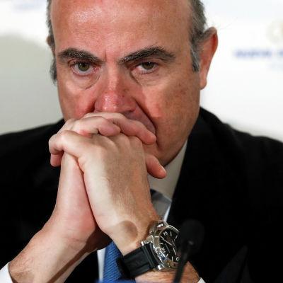 Spaniens ekonomiminister Luis de Guidos