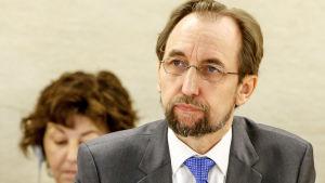 FN:s människorättskommissionär Zeid bin Ra'ad al Hussein.