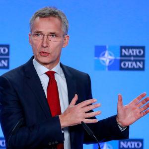 Natos:s generalsekreterare Jens Stoltenberg.