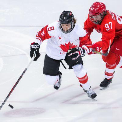Kanada är världsbäst i ishockey.