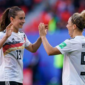Sara Däbritz och Svenja Huth