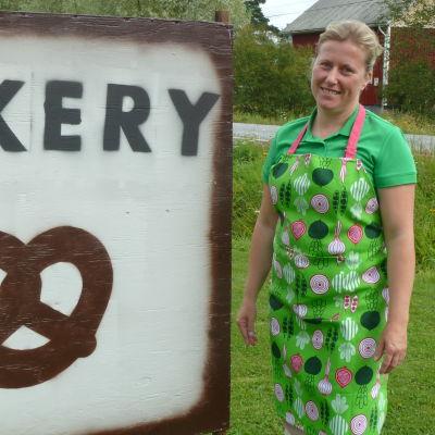 siv wilson brevid sin bakery skylt.