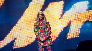 Krista Siegfrids Uuden Musiikin Kilpailussa 2017.