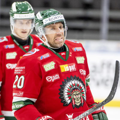 Joel Lundqvist grimaserar.