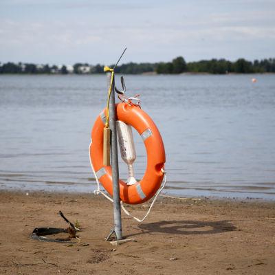 Uimarengas Hietaniemessä