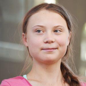 Greta Thunberg deltog i en klimatstrejk i staden New York  den 20 september 2019.