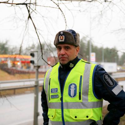 Dennis Pasterstein, Poliisin liikenneturvallisuuskeskuksen johtaja, Ylikomisario, Helsingin poliisilaitos