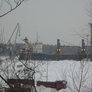 Inkoo Shippings hamn i Ingå
