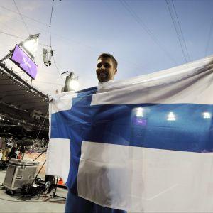 Antti Ruuskanen vann OS-brons i London.