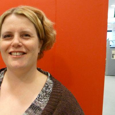 Lotta Holm, medieutvecklare på KFS Media