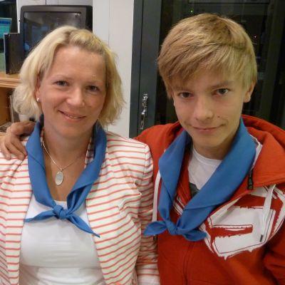 Heidi Öller och Lucas Forth
