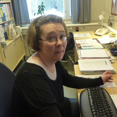 Ulla Penttinen, lektor vid Novia.