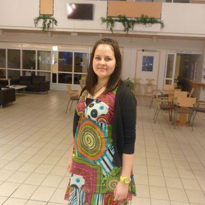 Anna Pensar är projekt koordinator för Campus Norrvalla