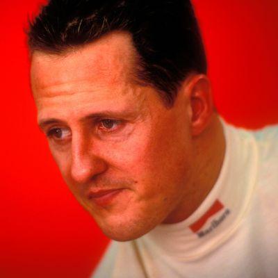 Michael Schumacher lähikuvassa.
