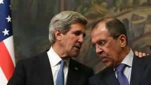 Lavrov och Kerry möts i Washington.