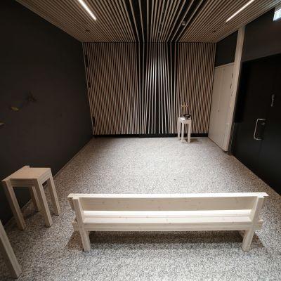 Sairaala Novan uusi kappeli tila.