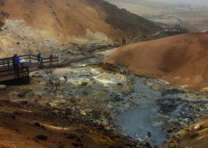 Varm källa i Island