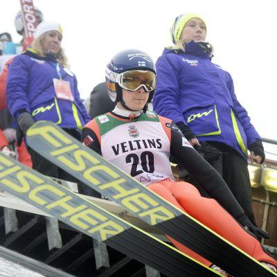 Jarkko Määttä åttonde man i Lahtis.