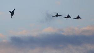 Brittiska jaktplan anslöt sig förra veckan till koalitionen i Syrien