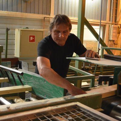 Aureskosken jalostetehdas Kaskisissa