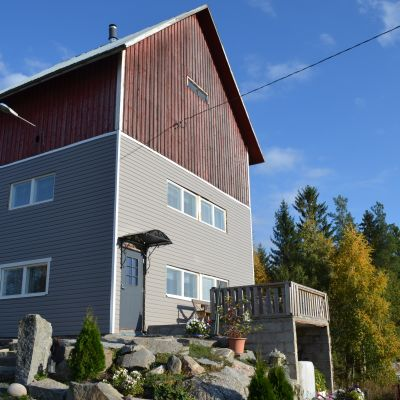 Viljankuivaajasta rakentui Valkaman perheelle uusi koti.