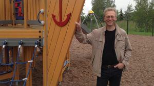Mikko Kaunisto har planerat parken
