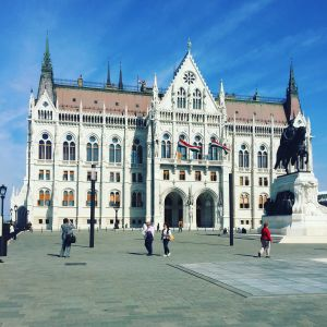 Parlamentsbyggnaden i Budapest