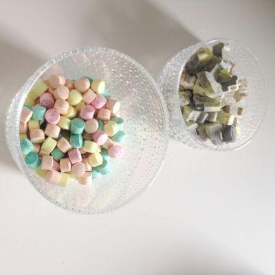 CandyWellin karamellejä kulhossa.