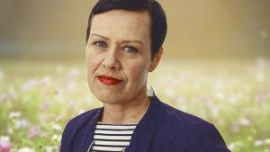 Porträttbild på politikern Maarit Feldt-Ranta