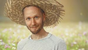 Porträttbild på bildkonstnären och serietecknaren Jonas Wilén