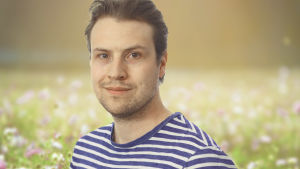 Porträttbild på friluftsentusiasten Kristoffer Wiik