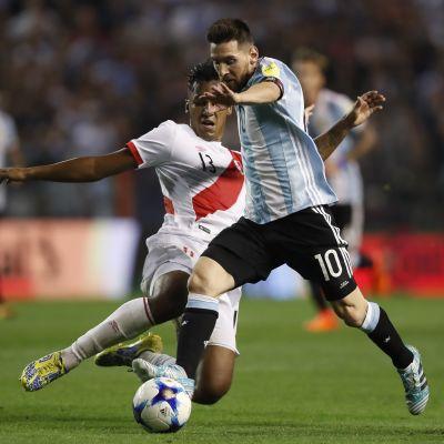 Lionel Messi Argentiinan paidassa.