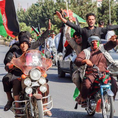 Afganistanissa juhlistettiin itsenäisyyttä.