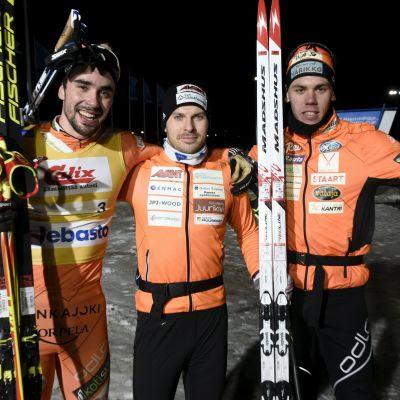 Ristomatti Hakola, Antti Ojansivu ja Markus Vuorela