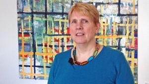 Kulturombudsman Annika Pråhl från Svenska kulturfonden.