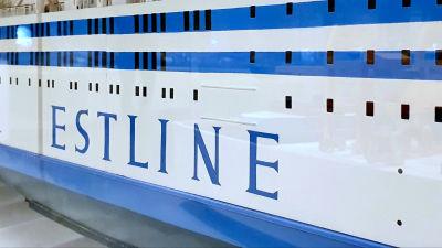 En modell av passagerarfärjan Estonia finns på Estlands sjöfartsmuseum i Tallinn.