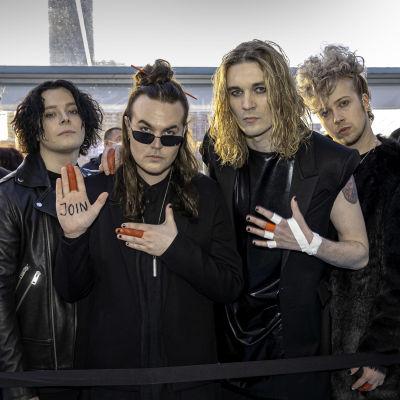 Blind channel euroviisujen avajaisseremoniassa Rotterdamissa