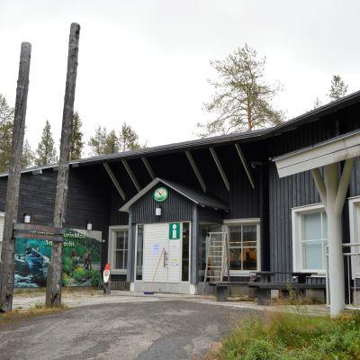 Opastuskeskus Savukoski Korvatunturi Metsähallitus luontopalvelut
