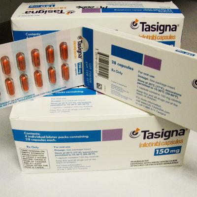 Nilotinib-medicin