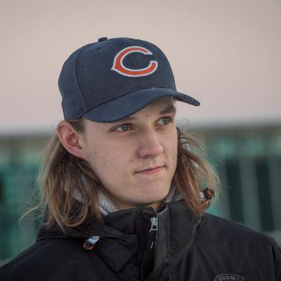 Sami Niku, nuorten MM-kisojen alla, tammikuussa 2016