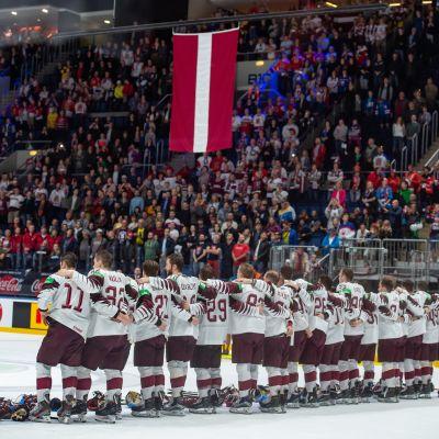 Latvia jääkiekon MM-kisoissa vuonna 2019