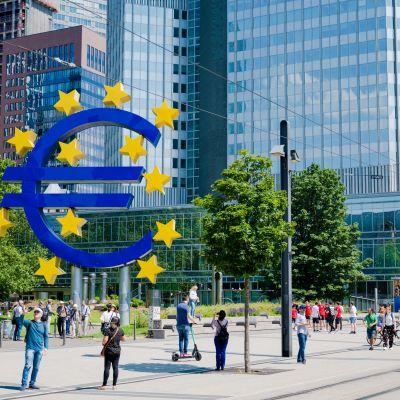 Euro, EKP, Frankfurt