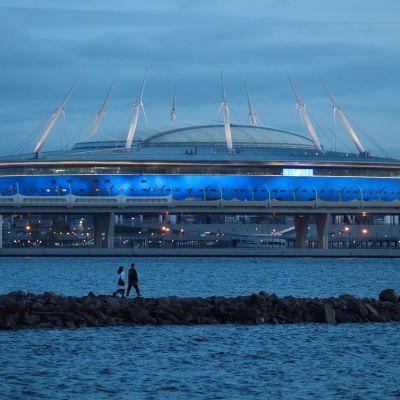 Pietarin jalkapallostadion.