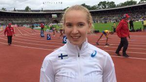 Sofie Westerlund, Sverigekampen 2017.