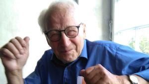 Bruno Österlund är en levnadsglad 92-åring