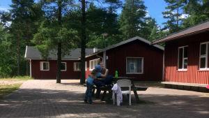 Lägergården Högsand i Lappvik, Hangö.
