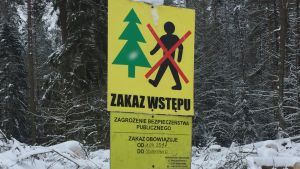 Varningskylt