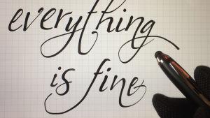 In heaven everything is fine -teksti.